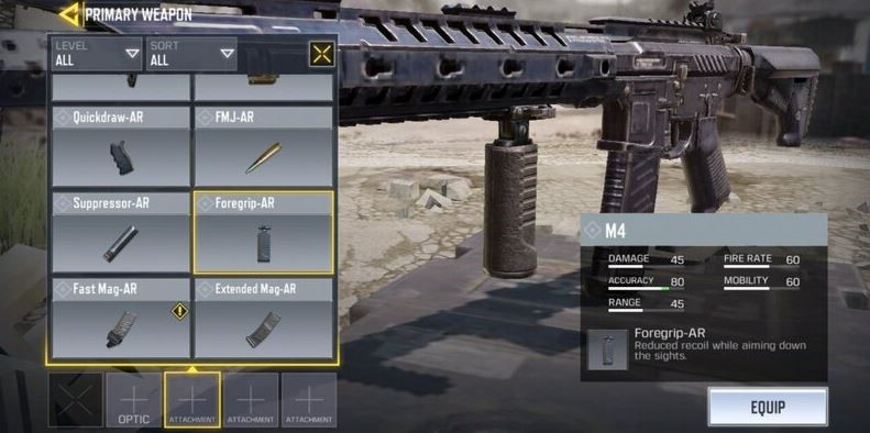 Get Familiar With Gunsmith Loadouts in COD: Mobile   Complete Guide