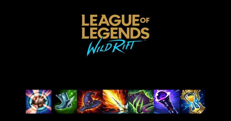 league of legends wild rift items