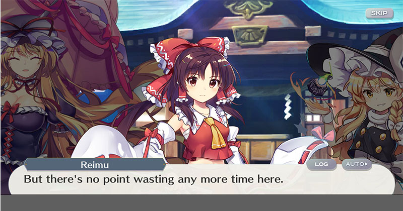 Touhou Lost Word Global Release English Gameplay is Now open to Preregister