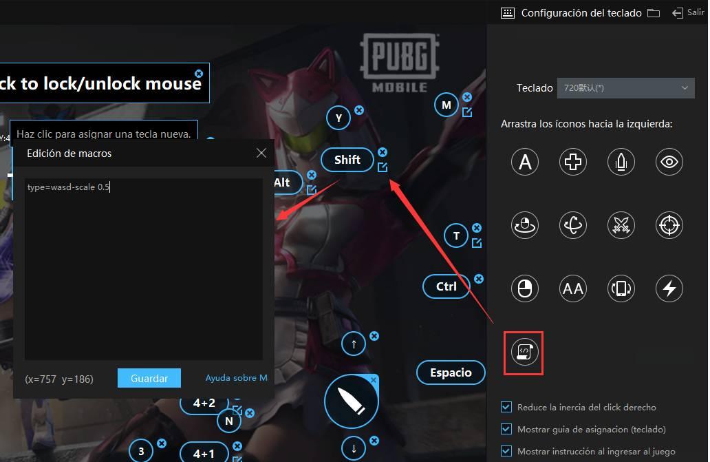 Cómo caminar lentamente en juegos de disparos como PUBG MOBILE y Standoff 2