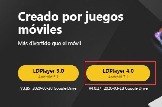 LDPlayer 4: nuevas funciones y mejoras con Android 7