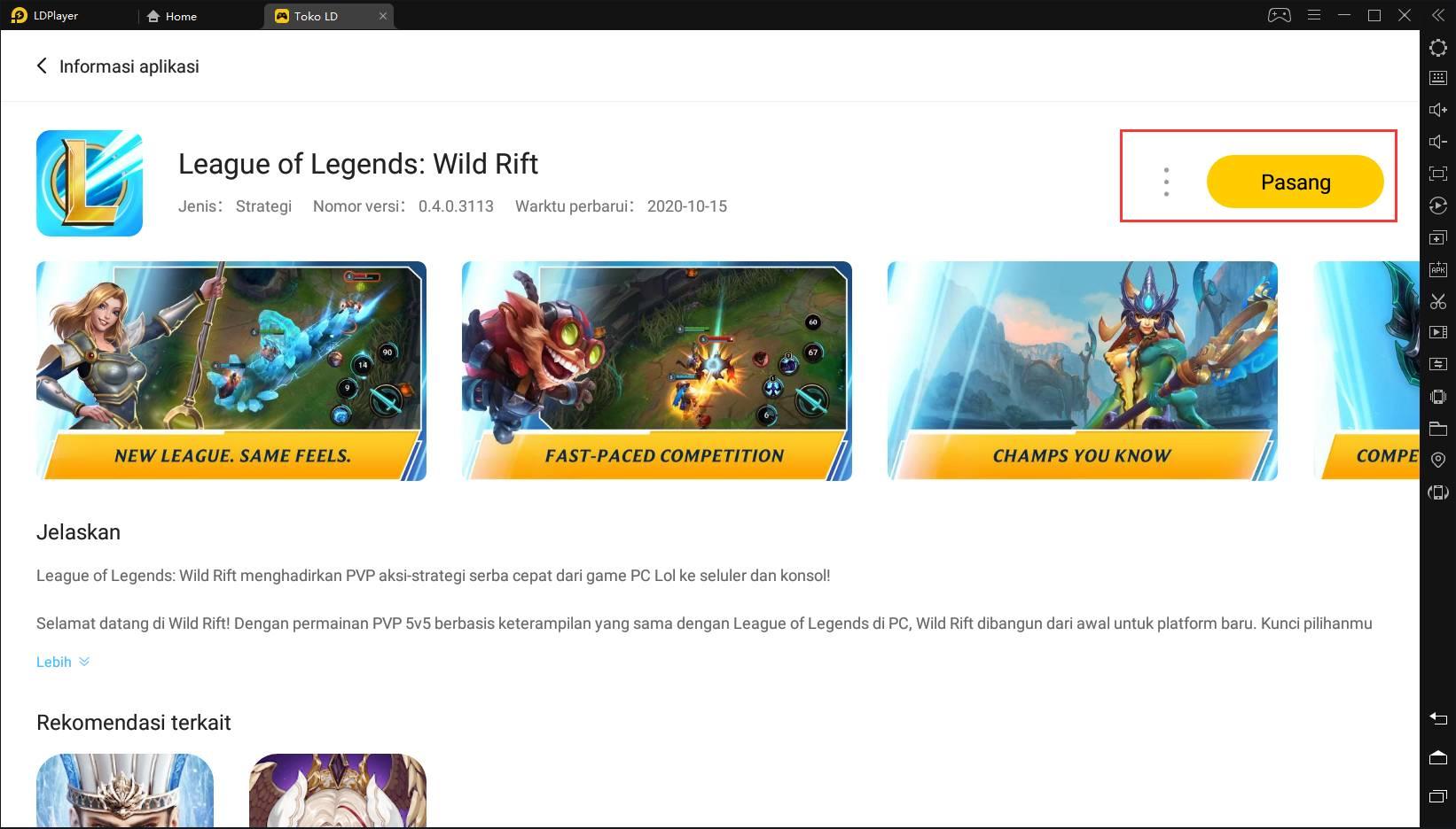 LOL: Wild Rift PC | Mainkan LOL Mobile (Beta) di Windows