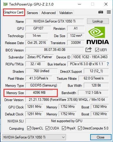 Cara melihat berapa banyak memori grafis yang digunakan