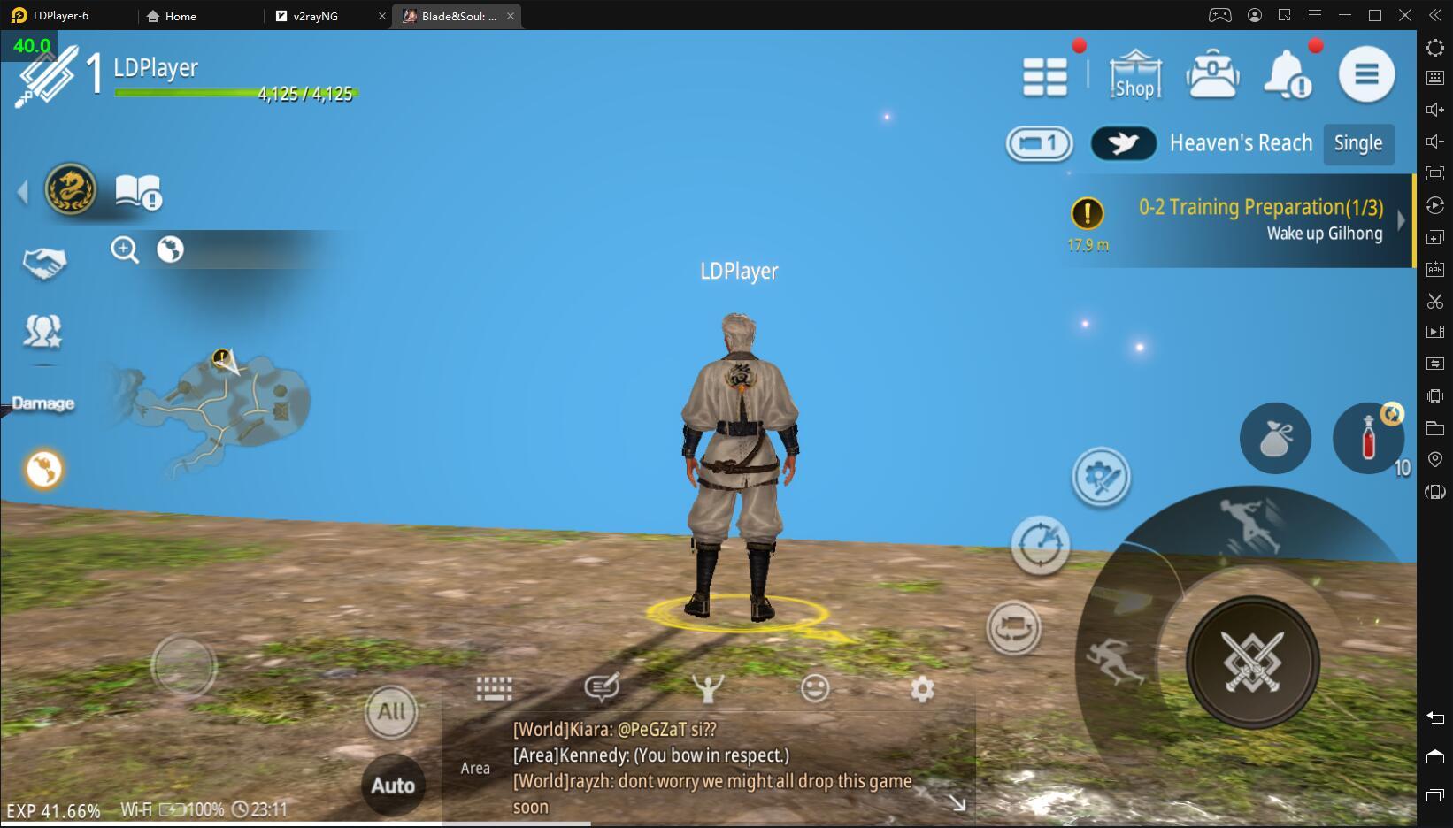 Решение: проблема синего экрана в игре «Blade&Soul : Revolution»