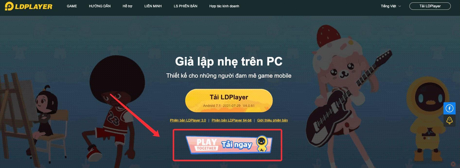 Chơi Play Together trên PC cùng LDPlayer