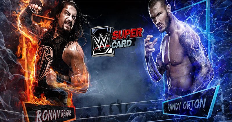 Download and Play WWE Supercard Multiplayer Collector Card Game on PC