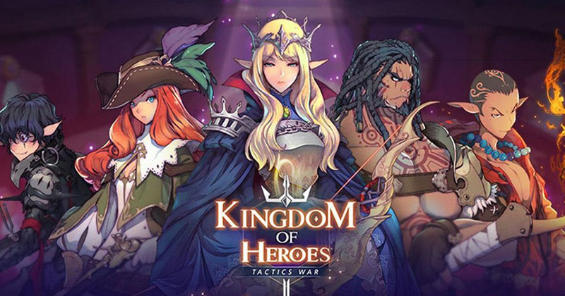 Kingdom of Heroes: Tactics War Dominate ...